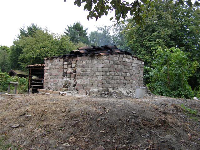 Kleibosch, Reproductie middeleeuwse steenoven - Felix van Dooren