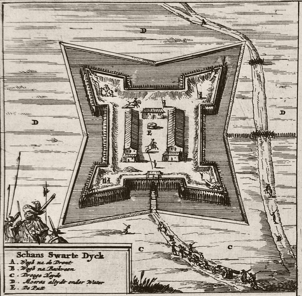 Zwartendijksterschans 1675