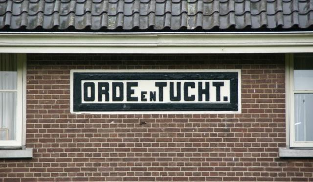 Orde en Tucht Veenhuizen - Foto HDL