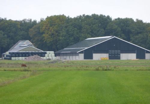 Zonnecentrale op beheerboerderij Het Drentse Landschap