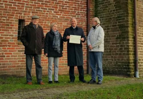St Oude Drentse Kerken krijgt schenking