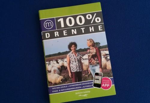 100% Drenthe reisgids uitgereikt