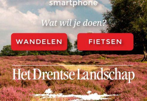 gps toegevoegd aan routes Het Drentse Landschap