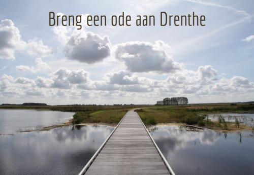 Uitdaging voor alle 'rebellen en dwarsdenkers' – Schrijf een gedicht als ode aan Drenthe
