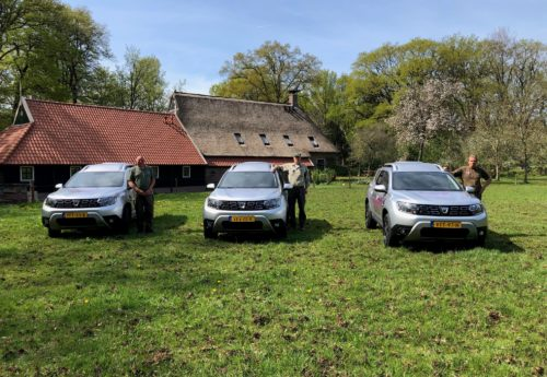 Nieuwe bedrijfsauto's voor onze rayonbeheerders