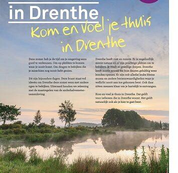 Kom en voel je thuis in Drenthe