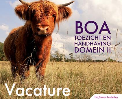 Vacature voor een BOA toezicht en Handhaving